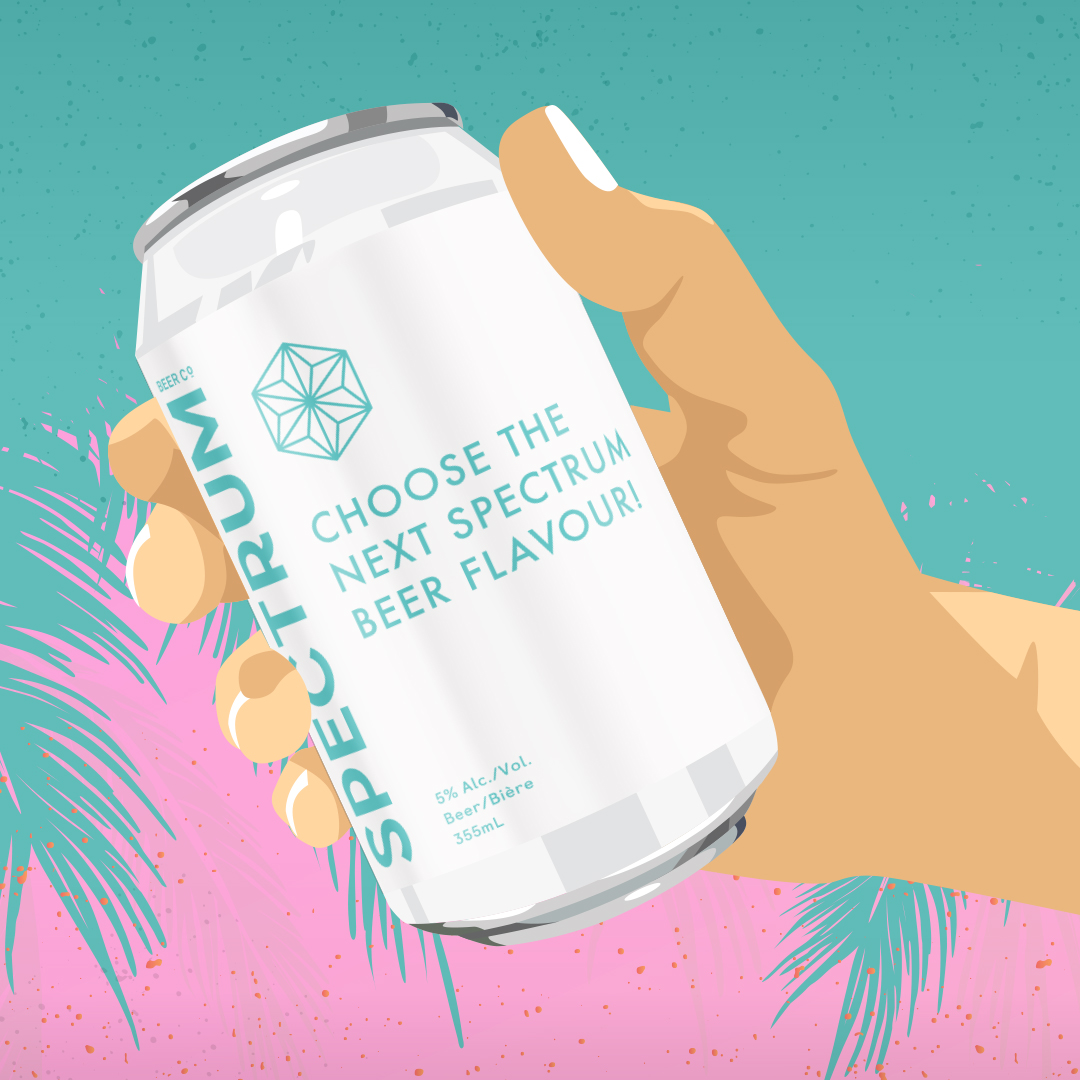 Spectrum Beer Co. launches 'Choose Our Next Beer Flavour' Contest