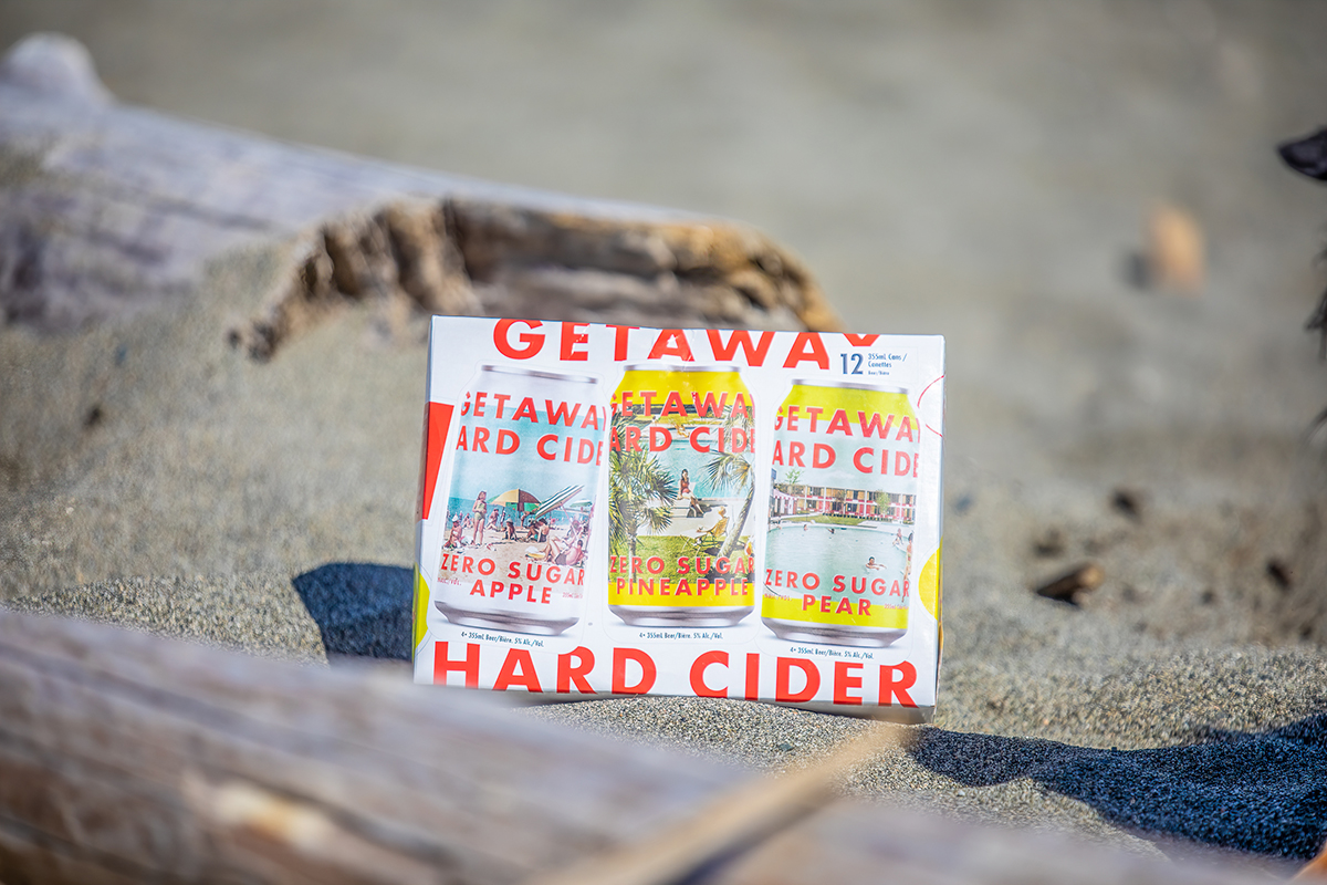 Getaway Hard Cider Releases New Mix Pack