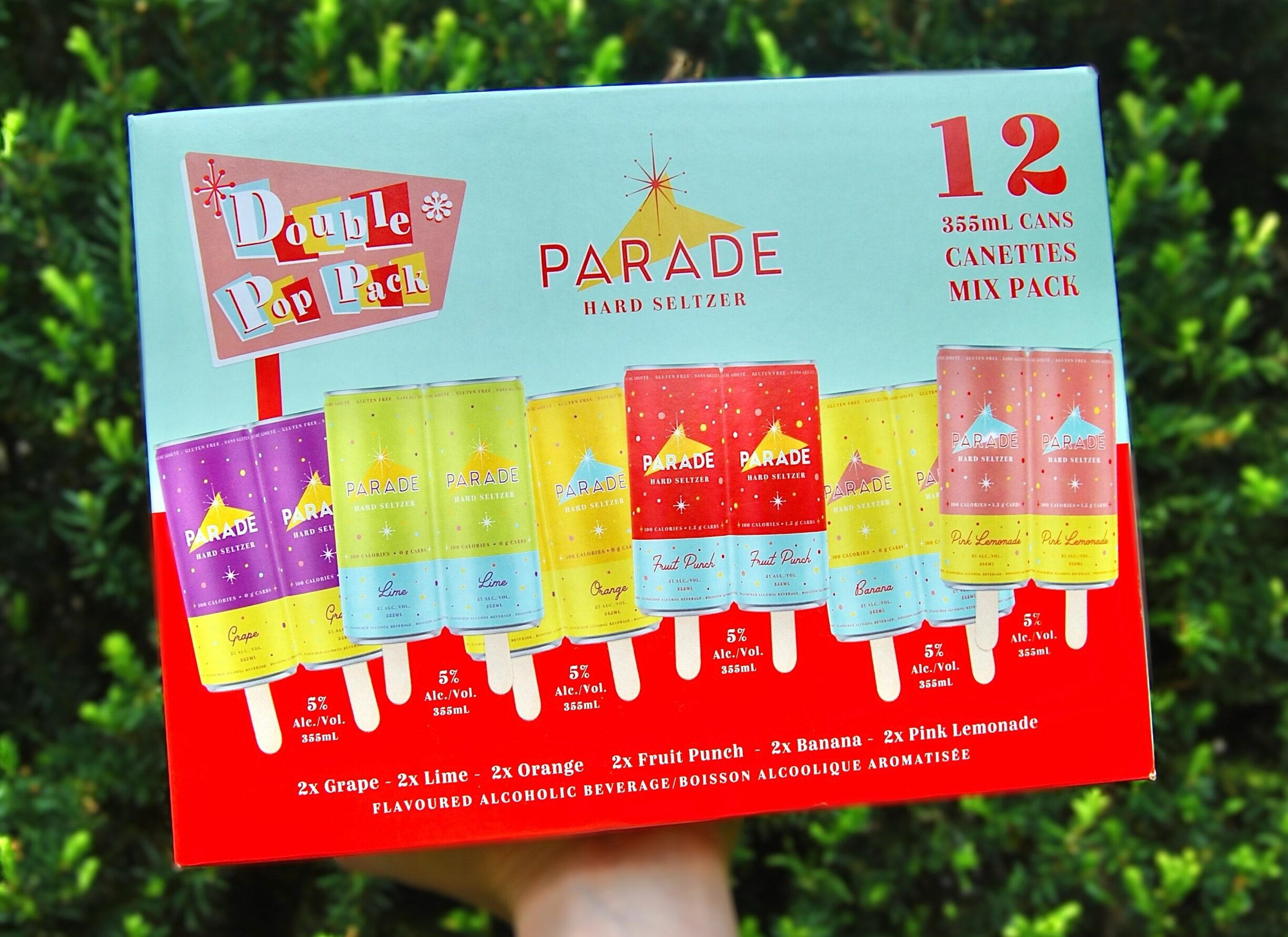 Parade Hard Seltzer Launches Double Pop Mix Pack